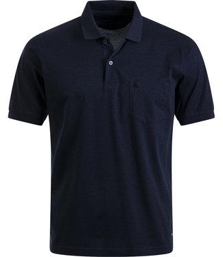 FORMEN classy donkerblauwe polo