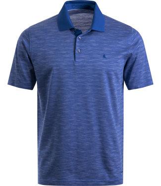 FORMEN blauwe jersey polo