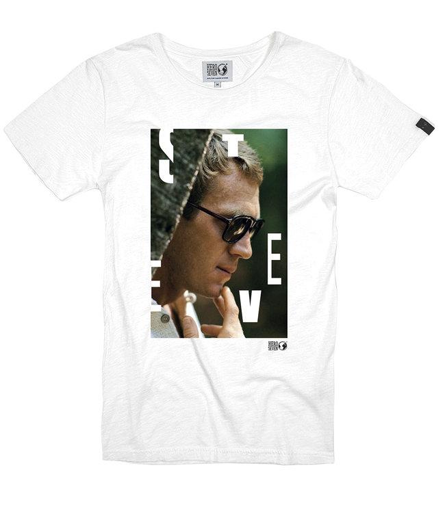 FORMEN wit t-shirt met fotoprint