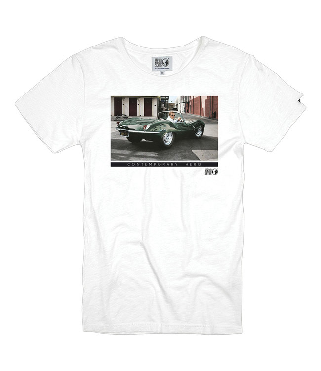 FORMEN wit t-shirt green chrome