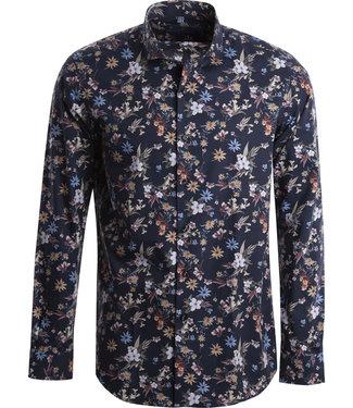 FORMEN krachtig hemd met fleurige bloemenprint