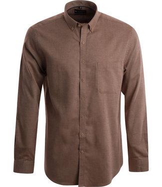 FORMEN hemd met warme roestkleurige tint
