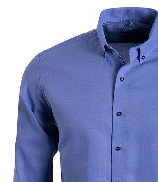 FORMEN stijlvol hoogblauw hemd - SLIM