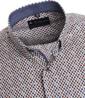 FORMEN vrolijk overhemd met print in modekleuren