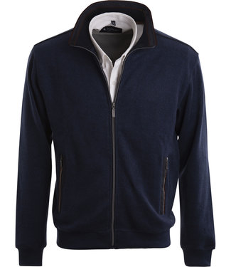 FORMEN vest in mooi winters jeansblauw