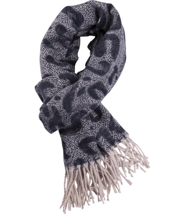 FORMEN Sjaal met luipaardmotief