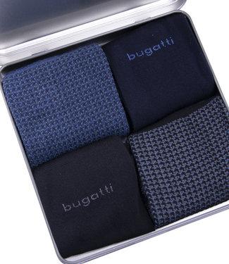 FORMEN Metal Giftbox herensokken blauwe-zwart