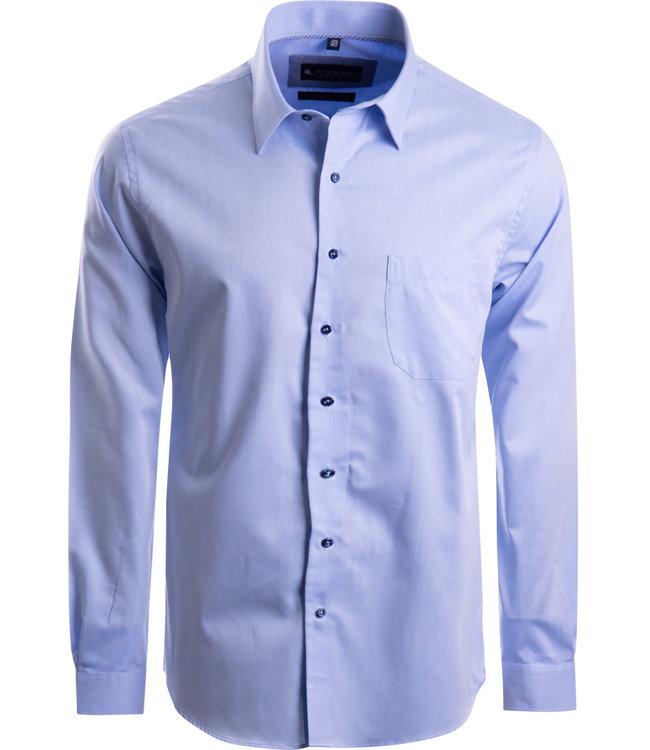 FORMEN keurig lichtblauw hemd