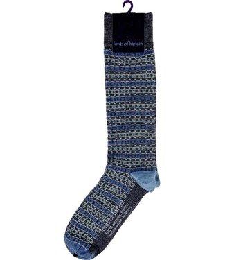 FORMEN fijne herensokken jeansblauw