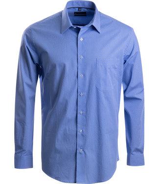 FORMEN keurig mannenhemd, fijne print