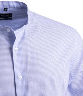 FORMEN linnen hemd met Mao kraag