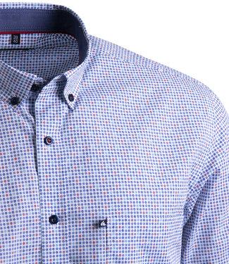 FORMEN overhemd met dot print