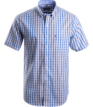 FORMEN casual geruit zomerhemd