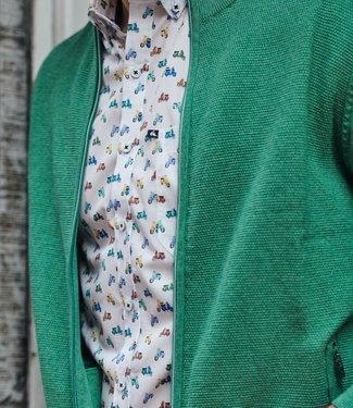 FORMEN tof hemd met vespa print