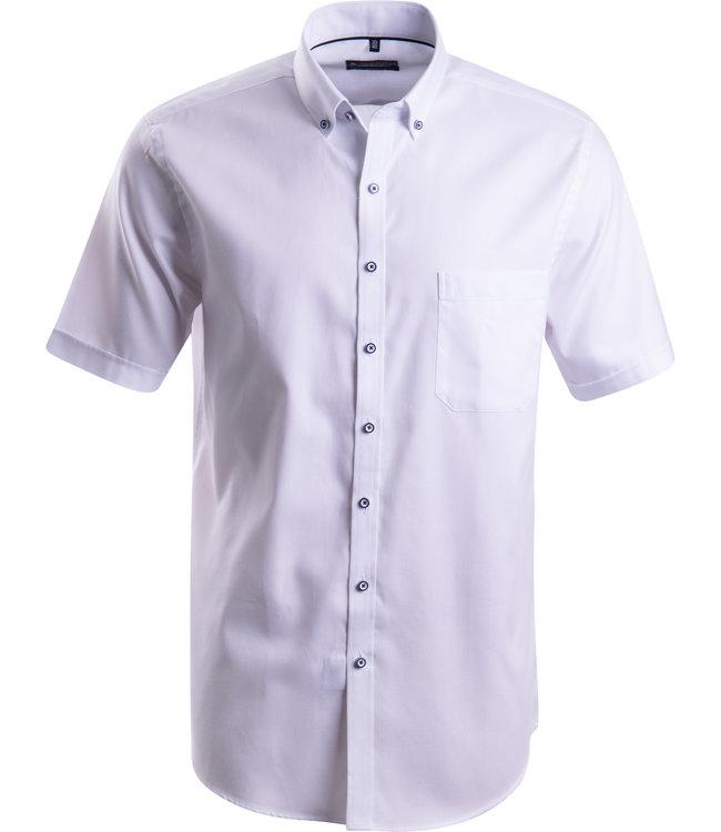 FORMEN wit hemd met korte mouwen