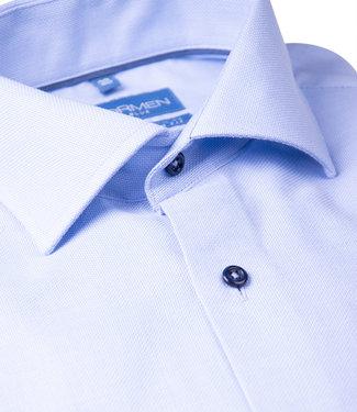 FORMEN stijlvol lichtblauw SLIM fit hemd