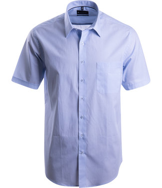 FORMEN printhemd in zomers blauw