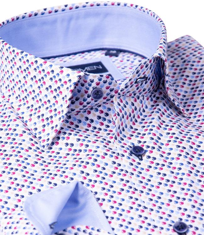 FORMEN hemd met veelkleurig dessin