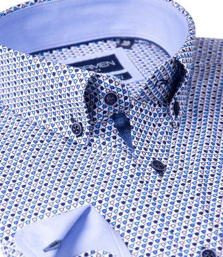 FORMEN hemd met eigentijds motief