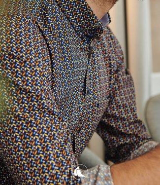 FORMEN hemd met abstract motief