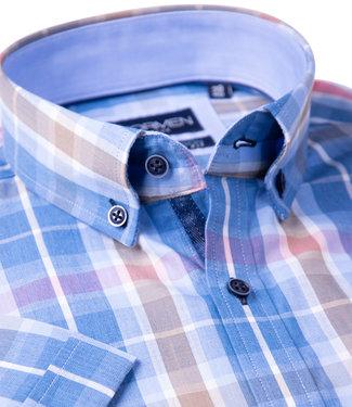 FORMEN geruit hemd met frisse kleuren
