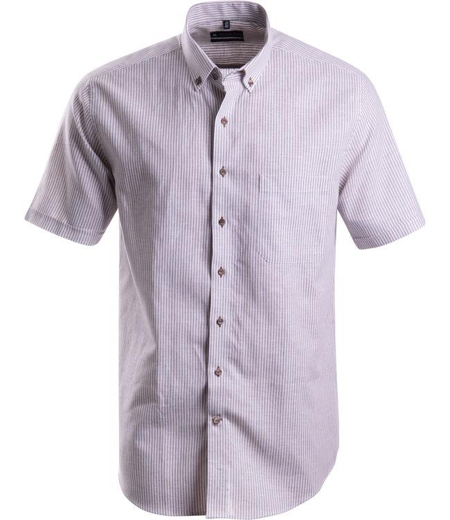 FORMEN gestreept linnen hemd