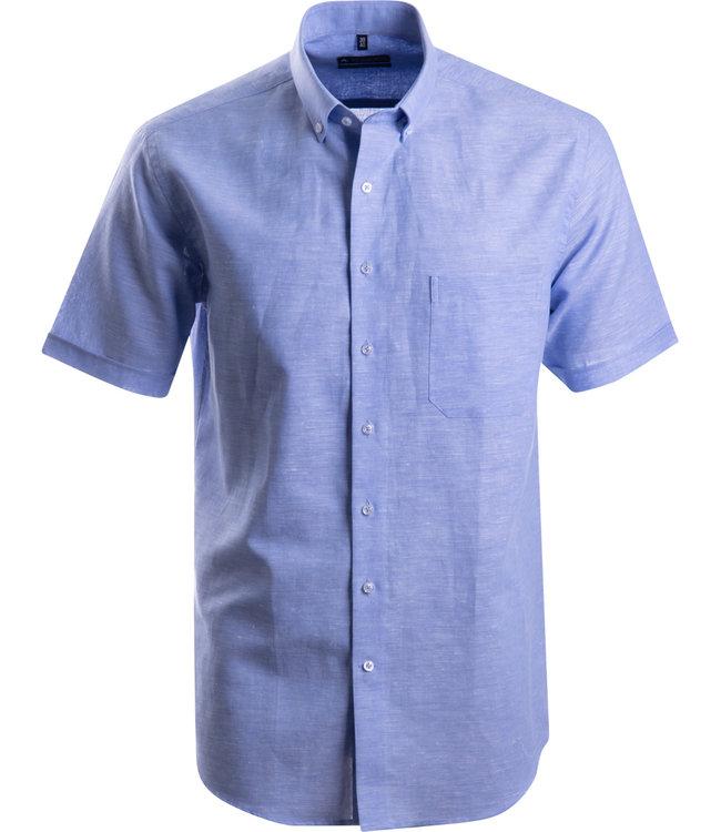 FORMEN blauw linnen hemd