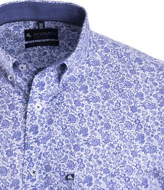 FORMEN knap hemd met fleurig motief