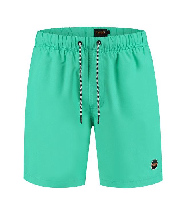 FORMEN zwemshort effen groen