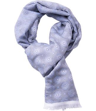 FORMEN fijne herensjaal grijsblauw