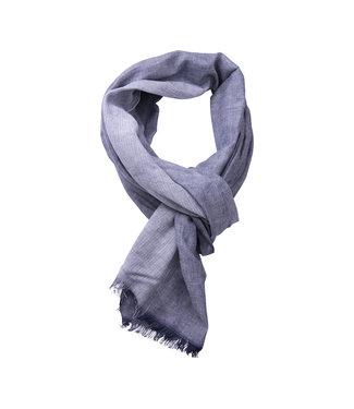 FORMEN fijne donkerblauwe herensjaal