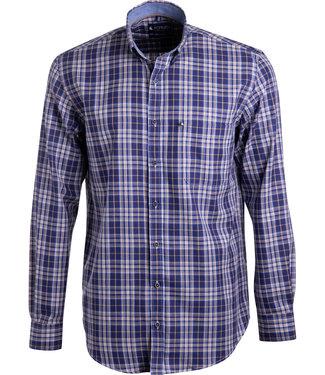 FORMEN sportief geruit overhemd