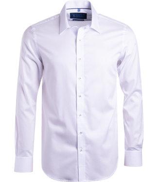 FORMEN SLIM fit effen wit hemd