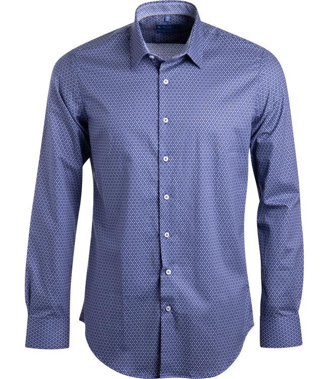 FORMEN SLIM fit shirt met microdessin