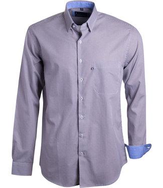 FORMEN knap hemd met moderne print