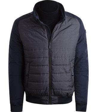 FORMEN sportieve winterjas in blauwgrijs