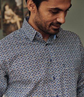 FORMEN hemd met creatieve print