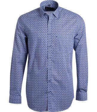 FORMEN jeansblauw shirt met motief