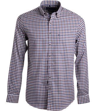 FORMEN vichy geruit hemd