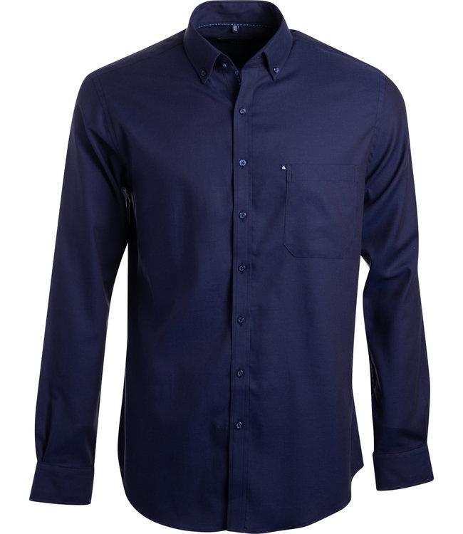 FORMEN elegant donkerblauw hemd