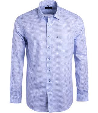 FORMEN overhemd met tegelmotief