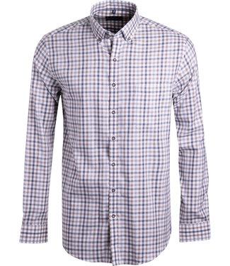 FORMEN geruit hemd in zachte kleuren