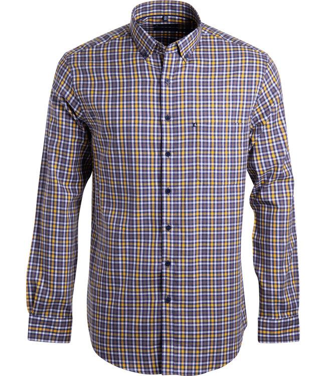FORMEN casual geruit overhemd
