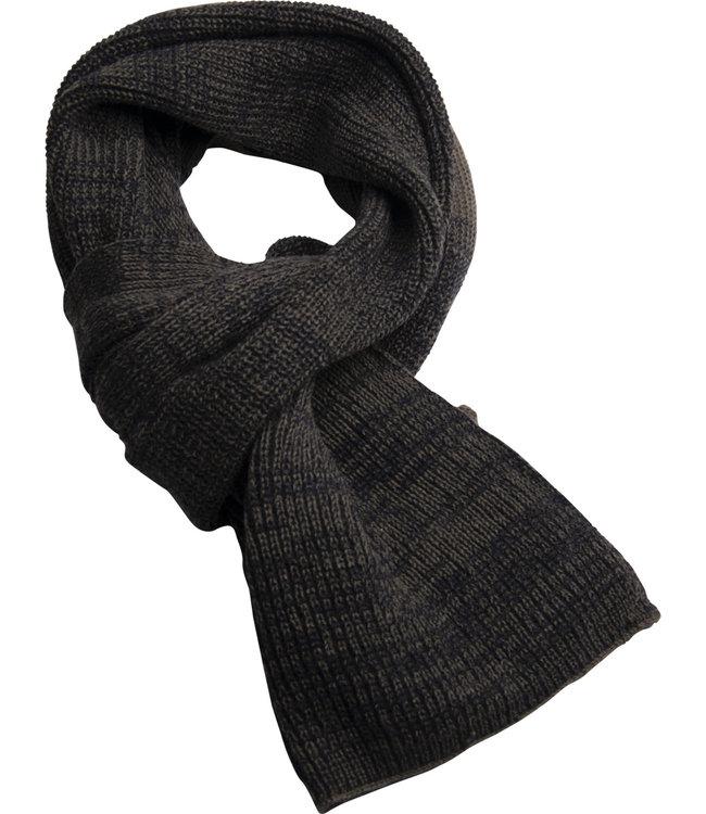 FORMEN kaki gebreide sjaal