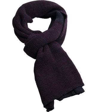 FORMEN bordeaux gebreide sjaal