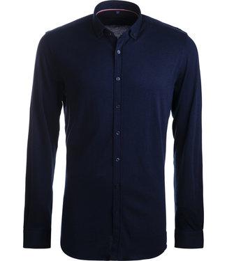 FORMEN navy tricot hemd - SLIM