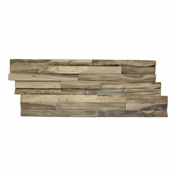 Teak Wood panel 3D Ultrawood  Rough BG-no FSC !