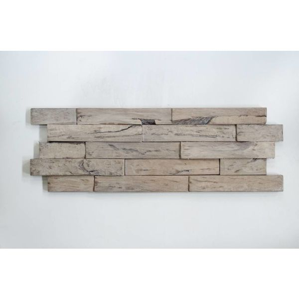 3D Woodpanel Driftwood Java Sea