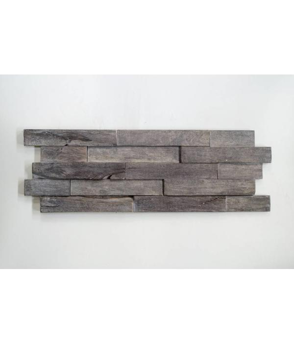 Rebel of Styles 3D Woodpanel Driftwood Salis Sea