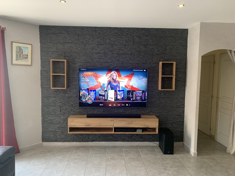 Panneau Mural Derriere Tv tv backwall | la nouvelle tendance du logement | style4walls